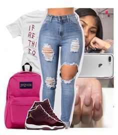 """""""mark my words - justin bieber"""" by theyknowtyy ❤ liked on Polyvore featuring JanSport"""