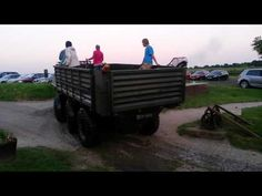 ▶ Mk1 Alvis Stalwart FV621 Ashdown in the Vale 2014 coming out water - YouTube