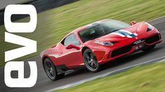 Ferrari 458 Speciale: On Track at Anglesey [evo Review] #ferrari #458speciale