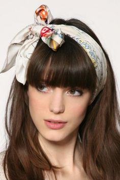 39250b6fcd4 hair with scarf - Google Search Pretty Hairstyles