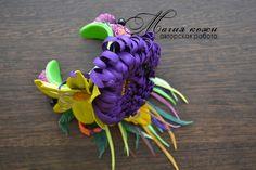 Здравствуйте! Представляю Вашемувнимание комплект 'Цветы осени' http://www.livemaster.ru/item/11715919-ukrasheniya-komplekt-iz-kozhi-tsvety-o…