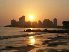 Atardecer en Cartagena.