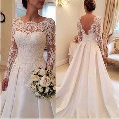 Wedding Dresses With Amazing Back Detail