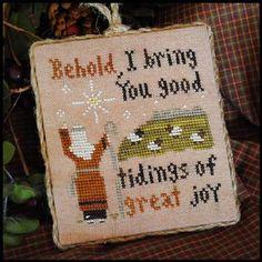 "Little House Needleworks ""Good Tidings"" 2011 series #12"