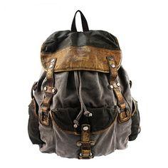 Classic combined travel rucksacks pack unisex