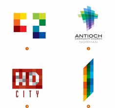 pixel · 2010 logo trends ::: by Bill Gardner · logolounge