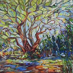 Buy Old Oak Tree, Oil painting by Tamara Vieira on Artfinder. Discover thousands of other original paintings, prints, sculptures and photography from independent artists. Old Oak Tree, Tree Oil, Brush Strokes, Oil Painting On Canvas, Impressionist, Lovers Art, Buy Art, Original Paintings, Sculptures