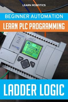 Learn how to program in Ladder Logic for Industrial Automation applications. Great guide for beginners! Control Engineering, Electrical Engineering, Robotics Projects, Engineering Projects, Electrical Diagram, Electrical Wiring, Plc Simulator, Ladder Logic, Computer Science