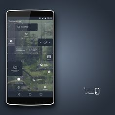 Grid Android Homescreen