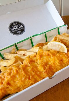 Love the presentation + box. Incredible fish and chips from Oliver's this weekend - 95 Haverstock Hill, London, NW3 4RL 020 7586 9945