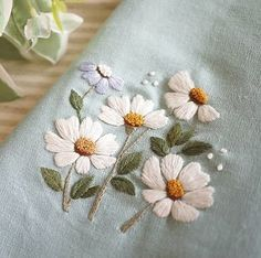 Grand Sewing Embroidery Designs At Home Ideas. Beauteous Finished Sewing Embroidery Designs At Home Ideas. Embroidery Shop, Embroidery Flowers Pattern, Learn Embroidery, Hand Embroidery Stitches, Embroidery Needles, Crewel Embroidery, Hand Embroidery Designs, Ribbon Embroidery, Embroidery Techniques