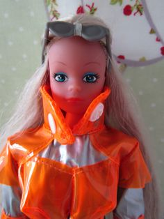 Steffi Love Collector Doll by Simba Toys - Unusual Silver/Orange Space Outfit | eBay