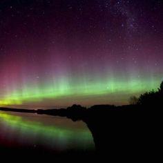 Southern lights New Zealand