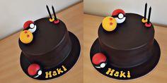 Simple Pokemon x Dragonball Cake