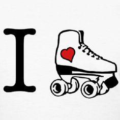 I love roller skating/derby Roller Derby, Quad Roller Skates, Roller Rink, Roller Blading, Roller Skating Party, Skate Party, Ice Skating, Figure Skating, E Skate