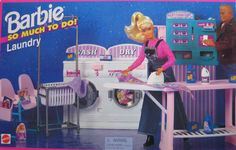 Barbie So Much To Do Laundry Playset (1995 Arcotoys, Mattel)