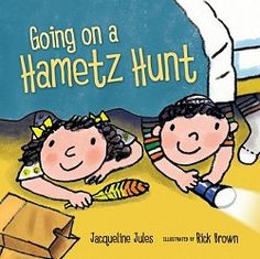 Little readers will have fun counting and rhyming with a brother and sister in Kar-Ben's new board book Going on a Hametz Hunt, as they look for breadcrumbs in a favorite kids' tradition before the start of the Passover holiday. Award-winning author Jacqueline Jules combines rhyme, counting, and a popular Jewish children's activity for Passover. Cheery illustrations by Rick Brown compliment the simple text.