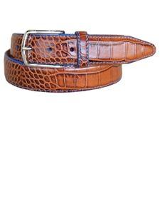 Lejon Tan Anzio Dress Belt 15681 - Spring 2015 Collection Leather Belts   Sam's Tailoring Fine Men's Clothing