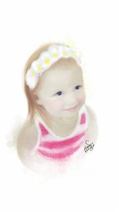 Hey!  I drew this lovely girl using sketchbook ,i hope you #art #sketchbook #drawing #digitalart #girl #iraq #sketch #sketching #kunst #arte #seni #Искусство