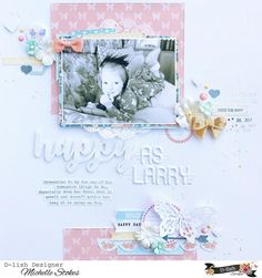 After a slight hiccup, my newest layout share has gone live on the @dlishscraps blog. Featuring clusters of pretty bits n bobs from the store and sweet papers from the Life is Beautiful collection by @cocoa_vanilla_studio #scrapbooking #gettinhercraftonaus #dlishscraps #cocoavanillastudio #cvslifeisbeautiful