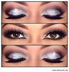Step by step eye makeup