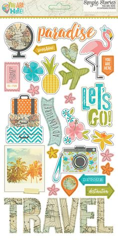 Simple+Stories+-+You+Are+Here+Collection+-+Chipboard+Stickers+at+Scrapbook.com