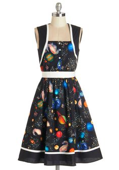 You're Out of this World Dress, #ModCloth
