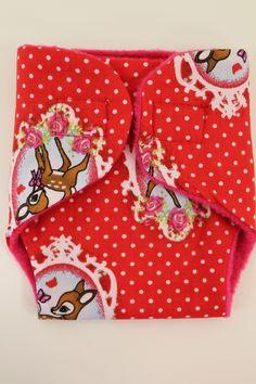 Luiertje voor babyborn rood hertje   Luiertjes   pippikokel