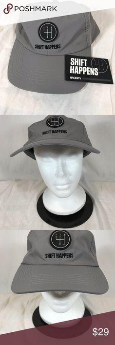 7fa26676f14 Shift Happens Baseball Cap Hat Hagerty Adjustable