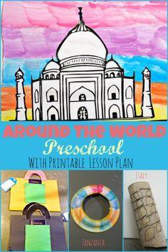 around the world preschool