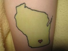 I <3 Wisconsin and all but not enough to get it inked