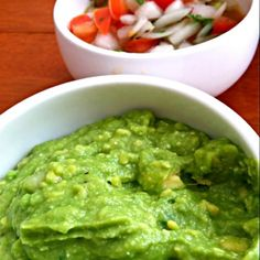 Thank you for following me (#^.^#) Ilike Korean food. - 27件のもぐもぐ - Guacamole & salsa by Juliee ~ ジュリー