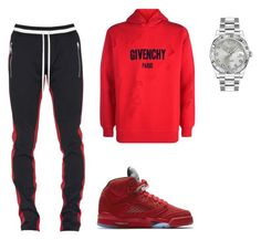 Untitled #155 by aintdatjulian on Polyvore featuring Givenchy, Fear of God, NIKE, Rolex, men's fashion and menswear