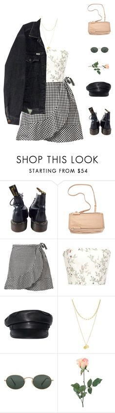 """""""Tell me something new."""" by greciapaola ❤ liked on Polyvore featuring Dr. Martens, Givenchy, Monique Lhuillier, Dsquared2, Zimmermann, Ray-Ban and INC International Concepts"""
