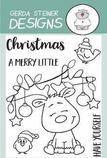 Gerda Steiner Designs Clear Stamp Little Christmas Reindeer 3x4 www.papercrafts.ch