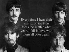 The Beatles are the most nostalgic part of my life.  I can listen to a song or album and instantly associate it with a certain age of my childhood