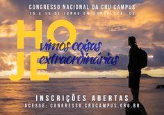 Arsenal do Crente: Congresso Nacional da Cru Campus - Fortaleza- CE
