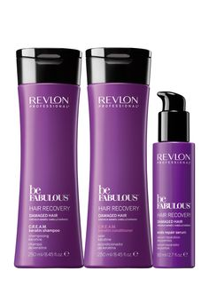 Revlon Professional be Fabulous Hair Recovery Family. Drugstore Makeup Dupes, Beauty Dupes, Beauty Makeup, Revlon Professional, Hard Candy Makeup, Drugstore Foundation, High End Makeup, Travel Humor, Celebrity Travel