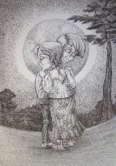 by balgeza on DeviantArt My Drawings, Ink, Deviantart, Illustration, Nature, Painting, Color, Naturaleza, Painting Art