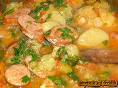 Romanian Food, Romanian Recipes, Curry, Good Food, Food And Drink, Potatoes, Chicken, Cooking, Ethnic Recipes
