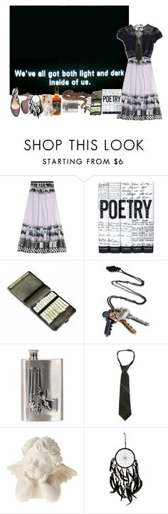 """""""ZWART OP WIT."""" by yourelive ❤ liked on Polyvore featuring Alberta Ferretti, Nasty Gal, Stolen Girlfriends Club, River Island, French Toast and Chanel"""