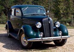1936 Plymouth P2 4 Door Touring Sedan...gangster car....