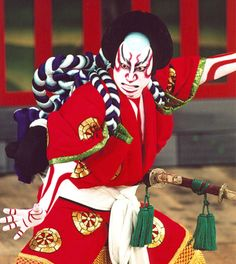"""Kabuki theater, Japan. This is where the term """"kabuki makeup"""" comes from."""