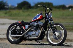 Hide Motorcycle : H-D Sportster