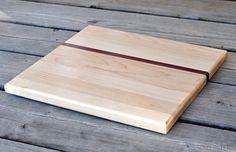 Modern Wooden Cutting Board by 50splinters