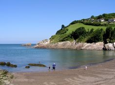 Combe Martin Bay, Devon...I am at the beach today! Finn for yourself on dinner tonight...