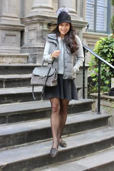 Shades of Grey - #Outfit post from Toronto Blogger Jocelyn Caithness #AlexanderWang #Gap #BananaRepublic