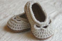 Häkeln Sie Muster Baby Schuhe Joch Ballett von TwoGirlsPatterns