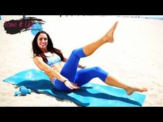 ▶ Sleek & Slender Abs With Karena! | Tone It Up Tuesdays - YouTube