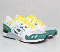 7c8c29b12fc Asics Gel Lyte III OG-White-Yellow-Green Asics Tiger